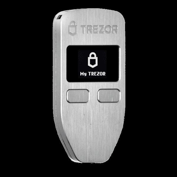 Trezor Bitcoin cold wallet