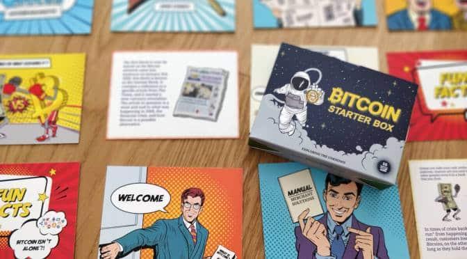 Start2Bitcoin - Bitcoin Starter Box