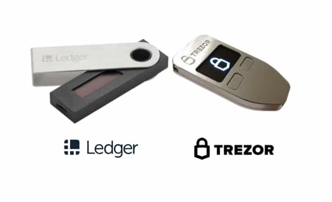 Start2Bitcoin - Een bitcoin adres kan je aanmaken op een veilige manier via een hardware wallet zoals Ledger of Trezor