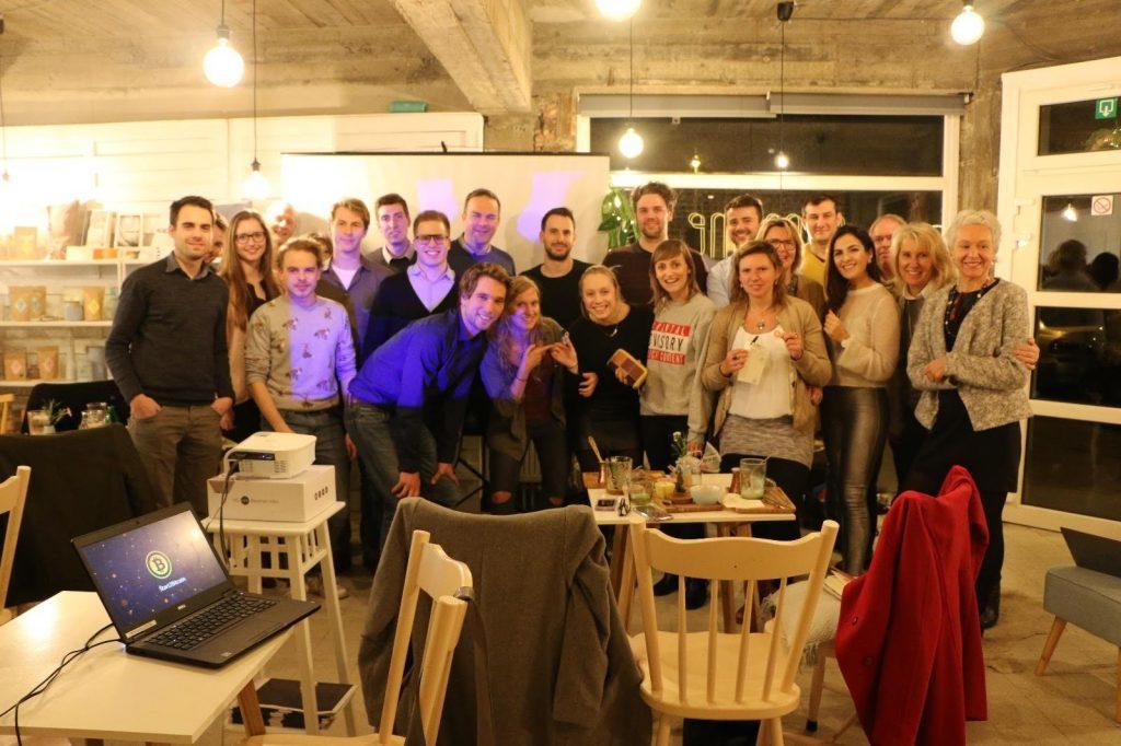 Een Start2Bitcoin workshop in België