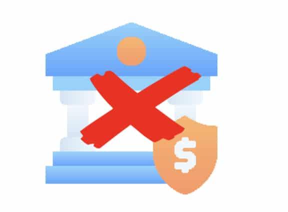 Een bankrekening met bitcoin is verboden